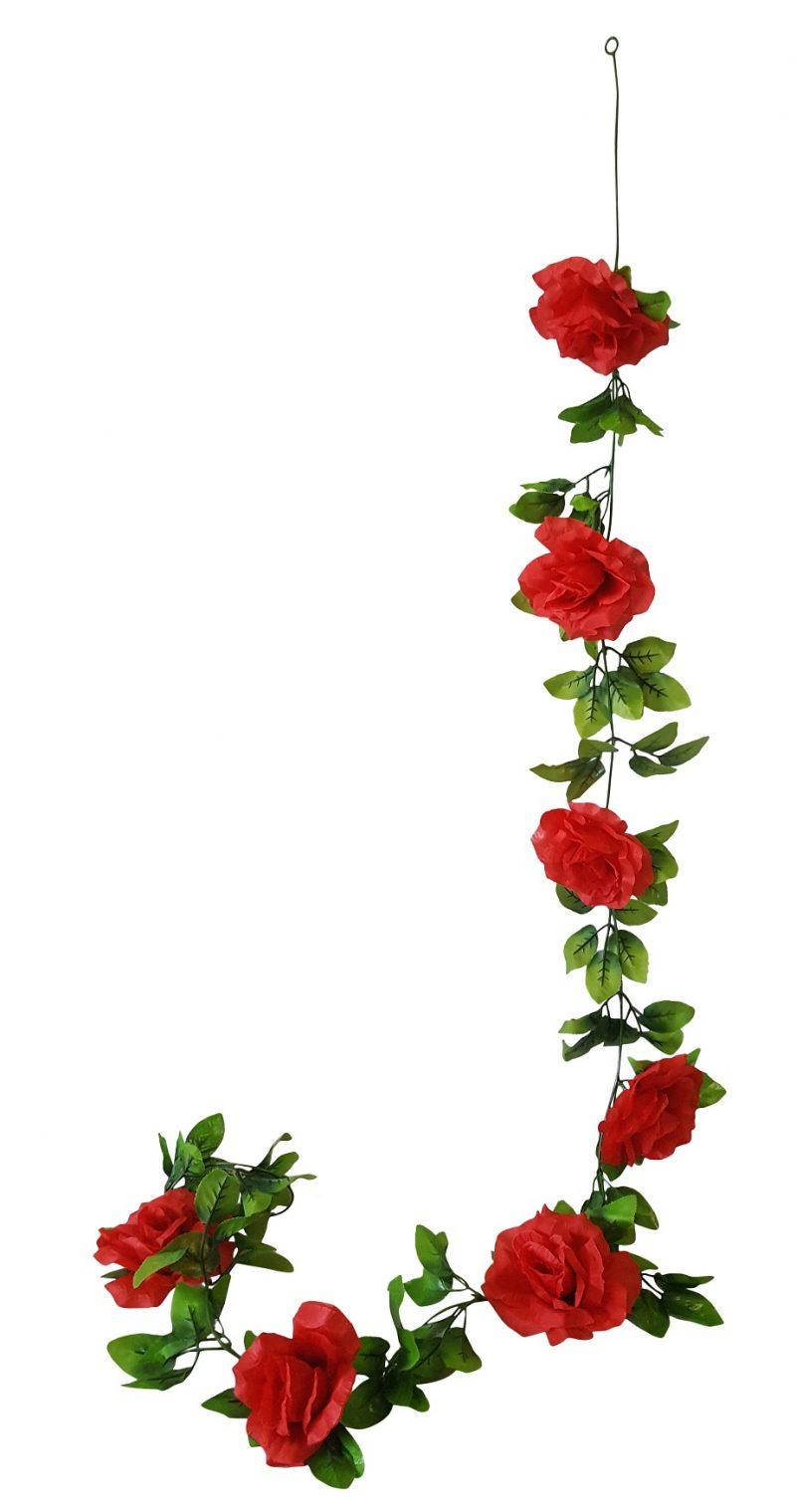 Grote Rode Rozenslinger 180cm