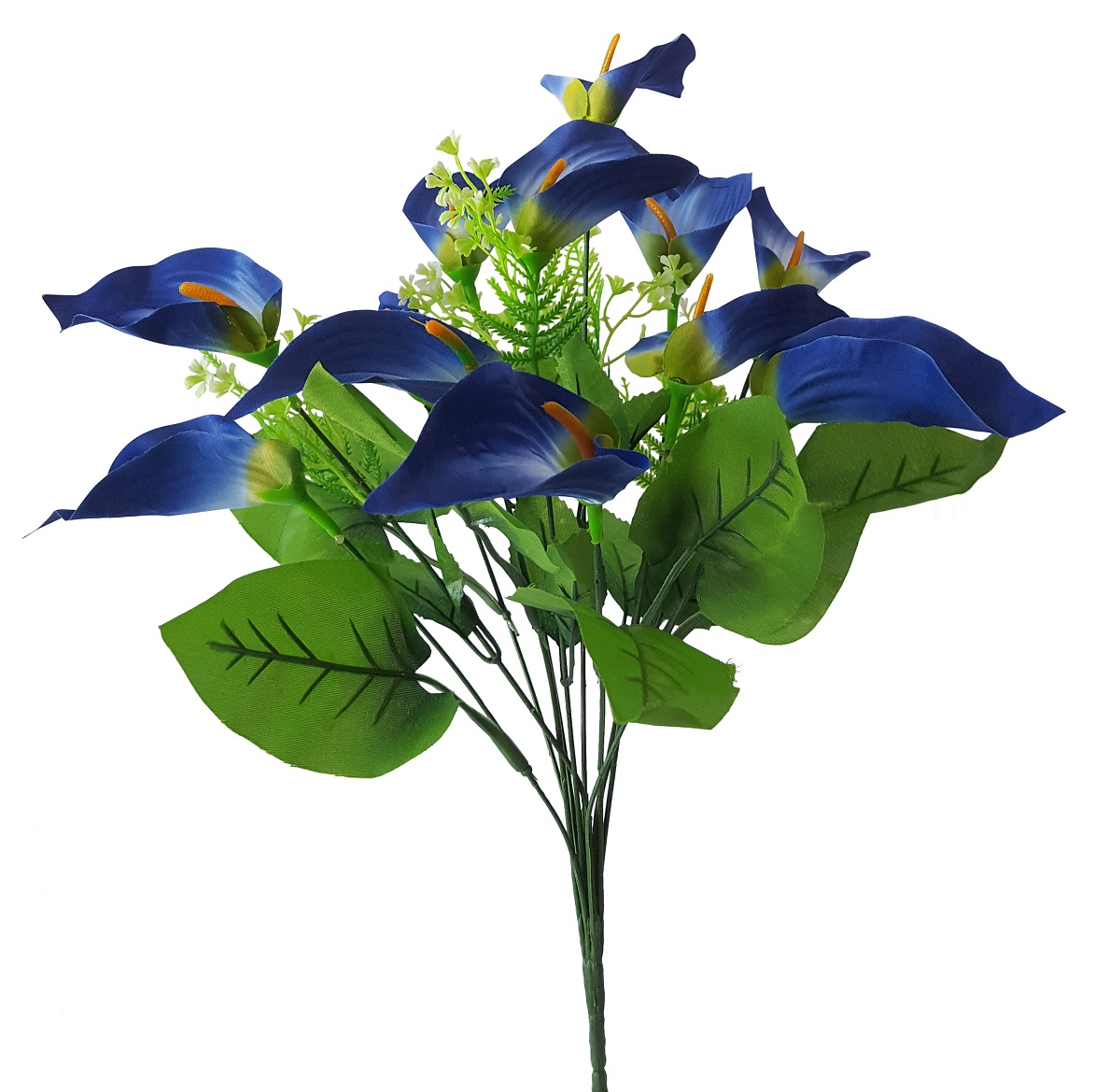 Namaak Aronskelk Blauw 45cm