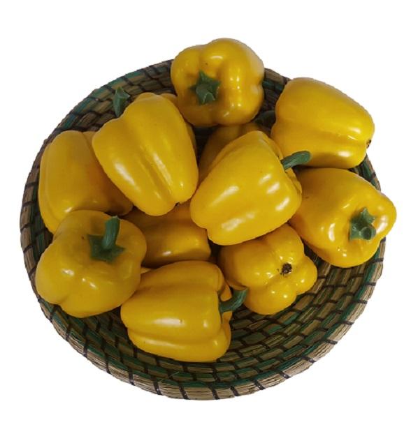 Gele Namaak Paprika 10cm