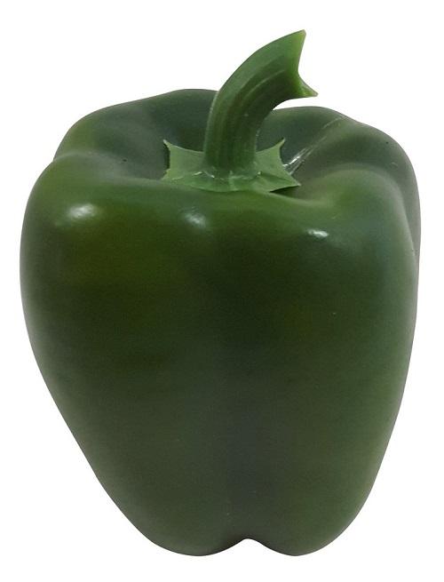 Groene Namaak Paprika 10cm