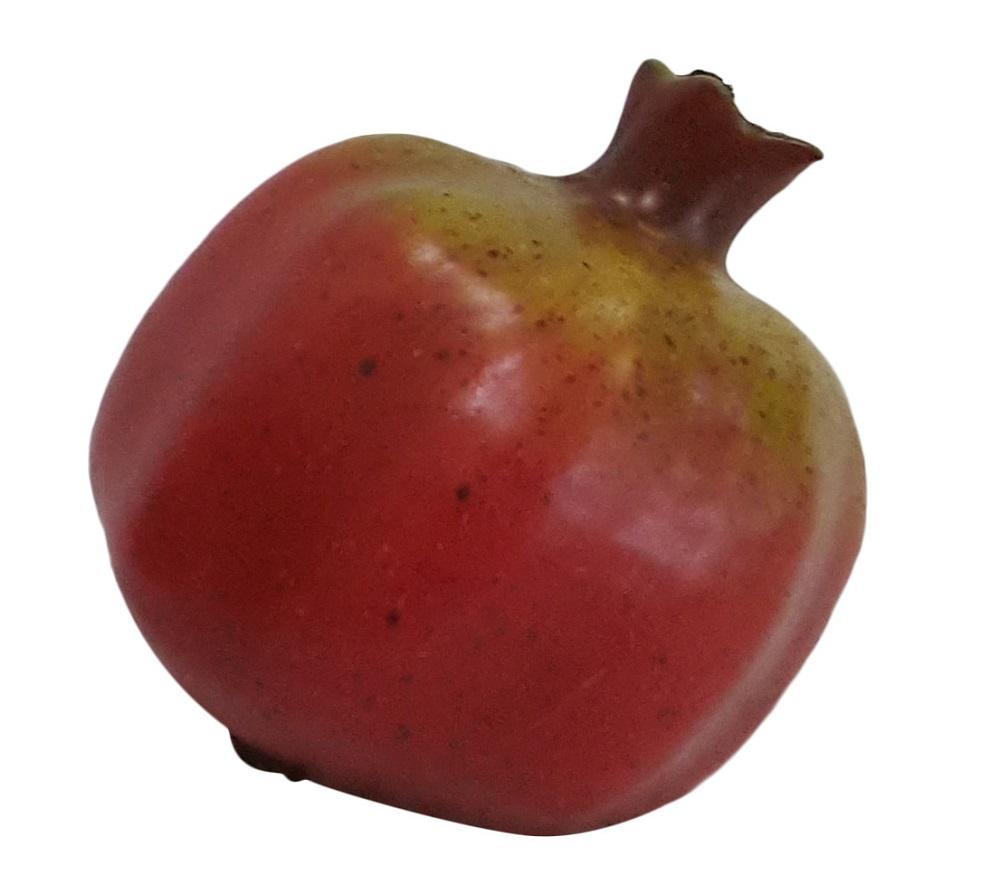Rode Namaak Granaat Appel 9cm