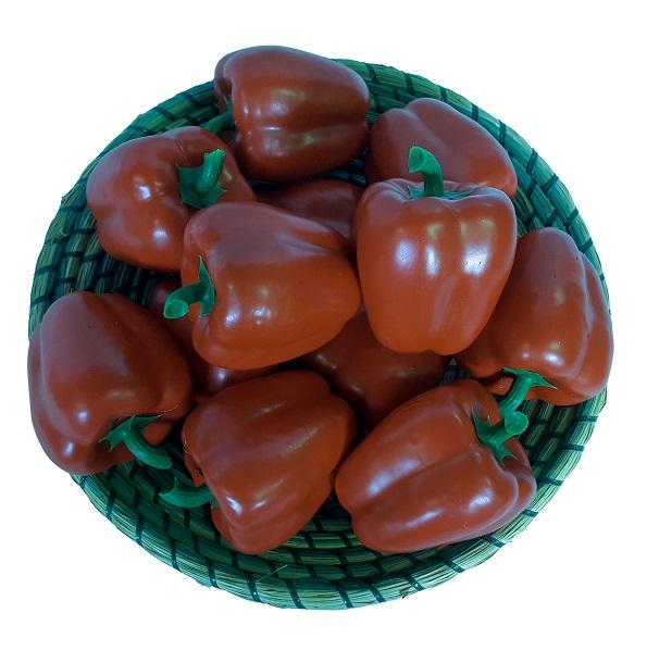 Rode Namaak Paprika 10cm