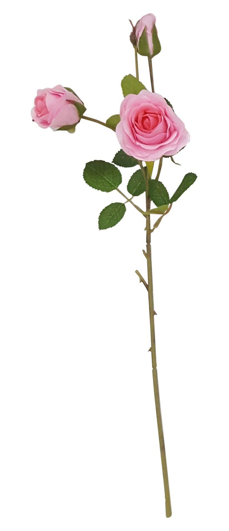 Roze Kunstrozentak 50cm