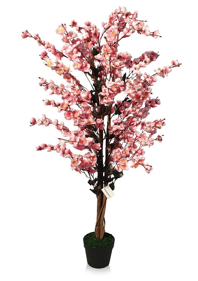 Kunst Rose Kersenbloesem Boomje 110cm