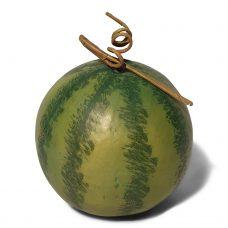 Ronde Kunst Watermeloen 17cm