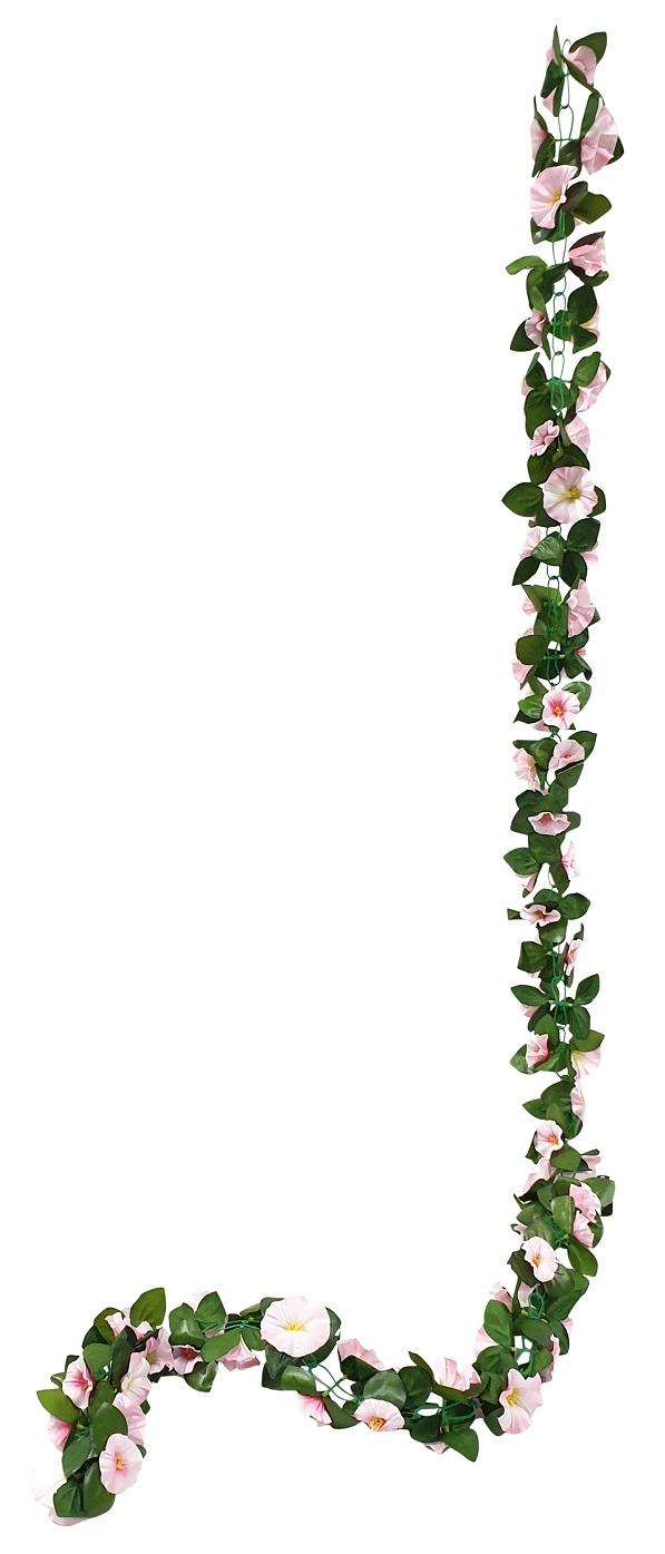 Licht Rose Bloemslinger 200cm