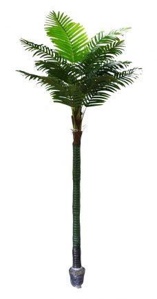 XL Kunst Kokos Palmboom Galapagos 375cm