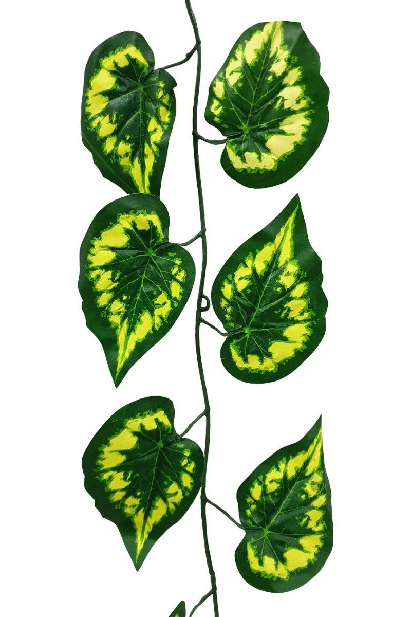 Kunst Begoniablad Slinger 300cm