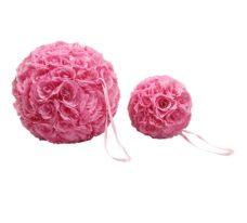 Nep Bloem Bol Rose 40cm