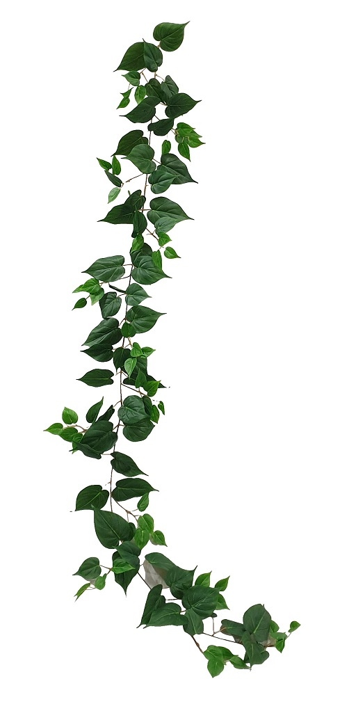 Nep Liaanblad Slinger Groen 210cm