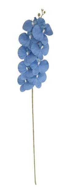 Blauwe Kunst Orchidee 100cm