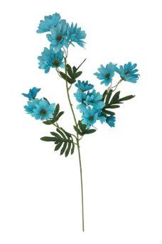 Kunst Madelief Blauw 70cm