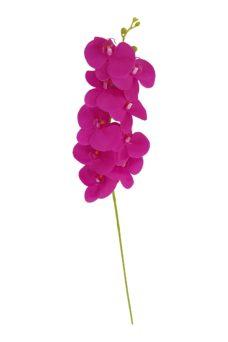 Fuchsia Kunst Orchidee 100cm